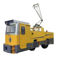 Quality 55 ton electric locomotive for big mines or tunneling construciton haulage for sale