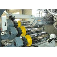 Quality High Tension Fireproof Conical Pvc Sheet Production Line 0.5 - 2mm Sheet Thickness for sale
