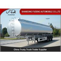 Quality Spring suspension 55000 Liters fuel tanker FUWA axles 12 tires for sale