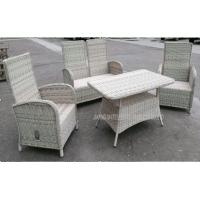 Buy cheap Durable Garden Patio Table And Chairs , Wicker PE Rattan Outside Furniture Set product