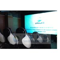 Buy cheap Electronic / Pneumatic 5D Movie Theater With Motion Seats And Sound System product