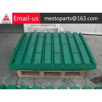 Quality cheap terex jaw face for sale