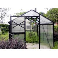 Quality Wood Glass One Stop Gardens Greenhouse Safety Good Weather Resistance for sale