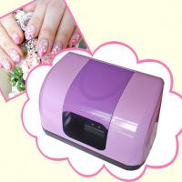 China easy use high quality Nail Art Printer stamping machine with 7 bottles nail art paint on sale
