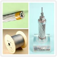 Buy cheap Corrosion Resistance Galvanized Steel Wire Rope Cable , Electrical Weatherhead Steel Guy Wire product