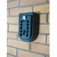 Quality 10 Digit Push Button Safety Wall Mounted Key Box Keyless Weather Resistant for sale