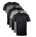 Quality Customized Blank V Neck Bamboo T Shirt XXS - XXXL Size Anti Wrinkle for sale