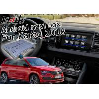 Quality Skoda Karoq GPS Navigation Box With 6.0 / 7.1 / 8.0 Upgrade Android Operation System for sale