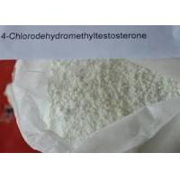 Quality Bulking Cycle Oral Anabolic Steroids Turinabol Powder 4 - Chlorodehydromethyltestosterone For Bodybuilding for sale