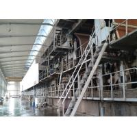 China Recycled Carton / Corrugated Paper Making Machine Fire Resistant Double Face on sale