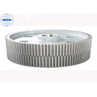Quality 45-60HRC Hardness Forging Double Helical Gear Hobbing / Herringbone Gear for sale