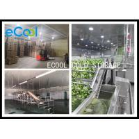 Quality Polyurethane Panel Multipurpose Cold Storage For Vegetable Environment Protective for sale