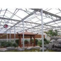 Quality Anti Wear Clear Polycarbonate Greenhouse Heavy Snow Resistance Capacity for sale