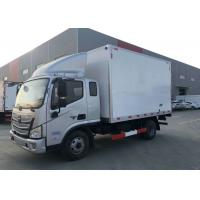 Quality Fresh Fish Refrigerated Delivery Truck 4x2 Hydraulic Steering With Power Assistance for sale