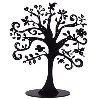Quality Transparent Acrylic Jewelry Display Custom Black Acrylic Tree Display For Jewely for sale