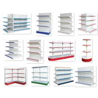 Quality Custom Steel Grocery Store Shelving , Retail Store Display Shelves Multi Layer for sale