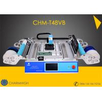 Buy cheap CHMT48VB 58pcs Feeders + Vision system Charmhigh Desktop Pick and Place Machine product
