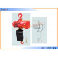 Quality Hard Hook Electric Chain Hoist With 360 Degree Rotatable Safety for sale