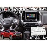 Buy cheap Android 6.0 GPS Navigation System for GMC Canyon 2014-2018 , Video Interface from wholesalers