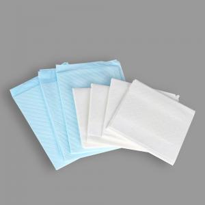Quality Hygiene Embossing Diamond White Blue Adult Nursing Pad for sale
