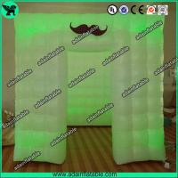 Quality Hot Sale 2.5*2.5*2.5 PVC Inflatable Photo Booth For Wedding Event Decoration for sale