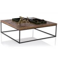 Buy cheap Industrial Style Solid Wood End Tables And Coffee Tables With Iron Frame product