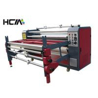 Quality Multi - purpose Roller / Pieces Textile Rotary Heat Press Machine For Scarf for sale