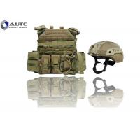 China Individual Lightweight Body Armor , Full Body Bulletproof Armor Camouflage Color on sale