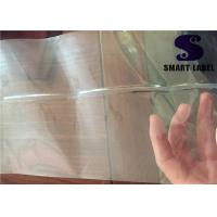 China PVC Transparent Shrink Wrap Bottle Labels Sleeve Film Plastic Ice Tea Packaging on sale