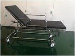 Quality 304 Stainless Steel Emergency Stretcher Trolley , Emergency Gurney Size 1930*750 for sale