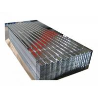 Quality Corrugated Zinc Coated Galvanized Steel Coil With Total Thickness Of 0.20mm for sale