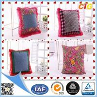Quality Customized Outdoor Cushion Covers , Sofa Seat Cushion Cover With Polyster And Cotton for sale