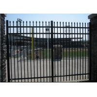 Buy cheap Easy Install / Handle Decorative Wrought Iron Fence Panels Maintenance Free from wholesalers