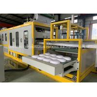 Quality High Speed Plastic Automatic Foam Food Container Forming Machine With Touch Screen for sale