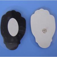 Quality hand shape snap electrode tens self-adhesive pads for bueaty massage for sale