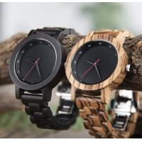 Buy cheap Wooden Watch OEM Men's Quartz Watch Logo Customized Environmental Fashion Watch from wholesalers