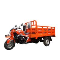 Buy 4 Stroke Three Wheel Cargo Motorcycle / 200CC Cargo Tricycle RWD Drive. at wholesale prices