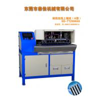 Quality Wire Cable Cutting And Stripping Machine AC220V / 50Hz 0.5 - 0.8MPa for sale