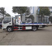 Quality JAC 4 Tons Flatbed Recovery Truck Large Capacity For Broken Cars SGS Certification for sale