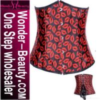 Quality Red Steel Boned Sexy Corset for sale