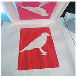 Quality Silk screen printing metal fabric for sale