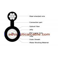 Quality Figure 8 Single Mode Fiber Optic Cable Building Factory Use GYXTC8Y for sale
