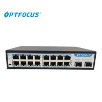 Buy cheap 16-port 10/100Mbps + 2-port 1000Mbps SFP Fiber Switch from wholesalers