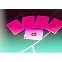 Quality Modiano Marked Decks for Gambling Cheat in Texas Holdem , Omaha , Baccarat for sale