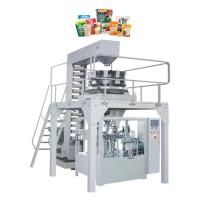 China Vertical Stand Up Pouch Packaging Machine , Candy Snacks Packing Machine on sale