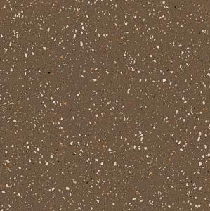 Quality Terrazzo Plates Non Shiny Porcelain Floor Tiles Light Brown Color for sale