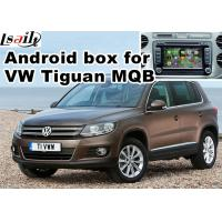 Quality Portable car Android navigation box for VW Tiguan / Sharan / Passat MIB MIB2 for sale