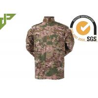 Quality Multicam Army Camouflage Clothing Uniform For Tactical Security / Military for sale