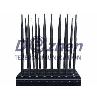 China Full Bands Jammer Adjustable 16 Antennas Powerful 3G 4G Phone Blocker &WiFi UHF VHF GPS L1/L2/L5 Lojack Remote Control A on sale