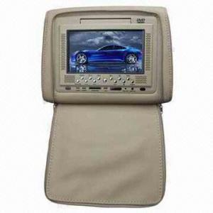 Quality 7-inch Digital TFT LCD Screen/FM/IR Function/TV DVB-T/Multilingual Menu/Games Headrest DVD Player for sale